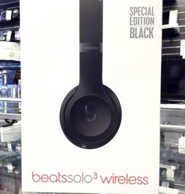 Beats Solo 3 Wireless Headphones - Black - Used in Box