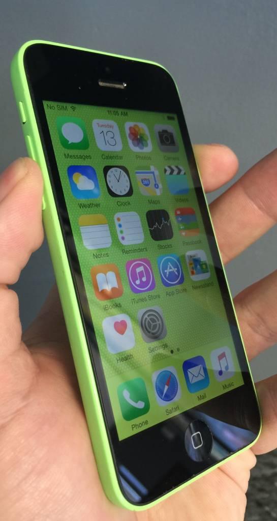 Sprint Only - Apple iPhone 5C - 16GB - Green - Fair