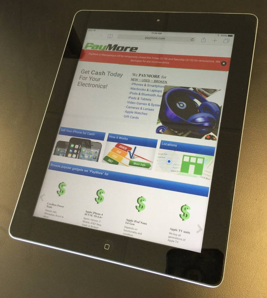 Apple iPad 3rd Generation - 32GB - Space Grey
