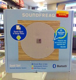 In Box - Soundfreaq Sound Spot Wireless Bluetooth Speaker & Phone Charger