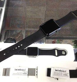 Apple Watch Series 1 - 42mm - M/L Black Band - Fair