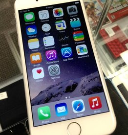AT&T Only - Apple iPhone 6 - 16GB - White/Grey - Fair