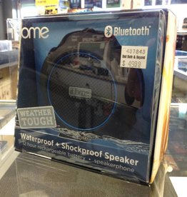 iHome Weather-Tough Bluetooth Speaker - New In Box