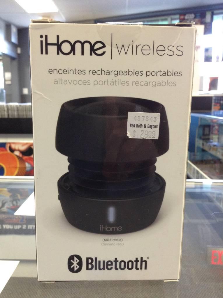 New - iHome iBT72 - Portable Bluetooth Speaker