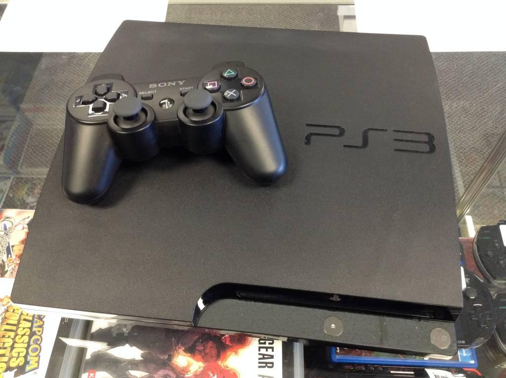Playstation 3 (PS3) Slim Console - 160GB - Black