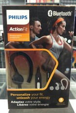 Phillips ActionFit Bluetooth Wireless Headphones - New In Box