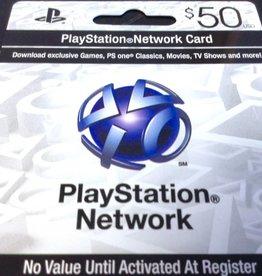 Playstation Network PSN Card - $50