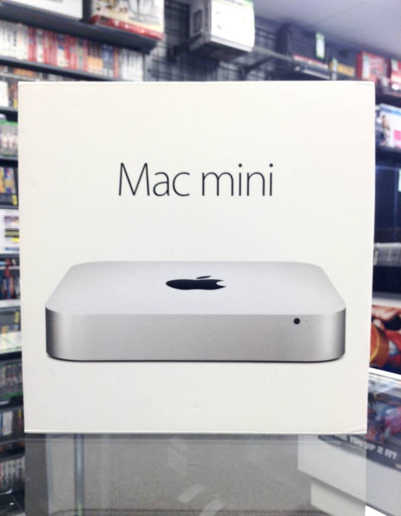 In Box - Late 2014 Mac Mini - i5 1.6/2.7GHz Trubo - 4GB RAM - 500GB HD