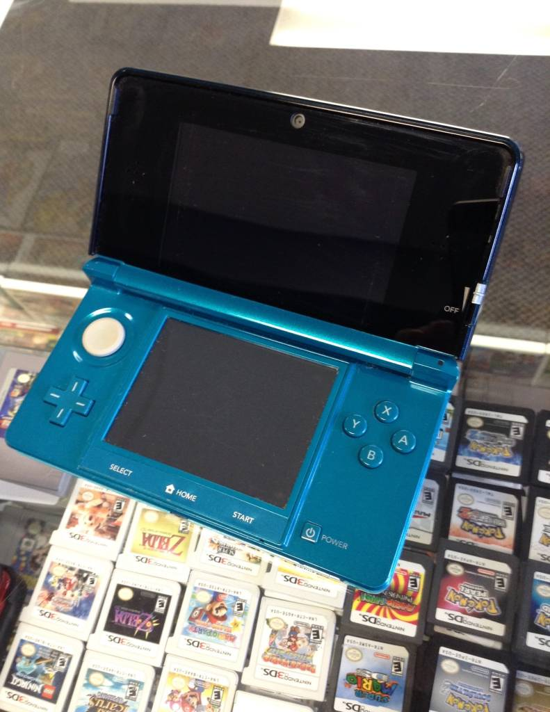 Fair Condition - Nintendo 3DS - Aqua Blue