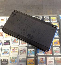 """New"" Nintendo 3DS - Mario Black Edition - Used"
