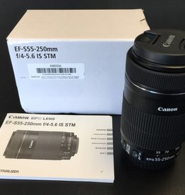 NEW Canon EF-S 55-250mm f/4-5.6 IS STM Zoom Lens