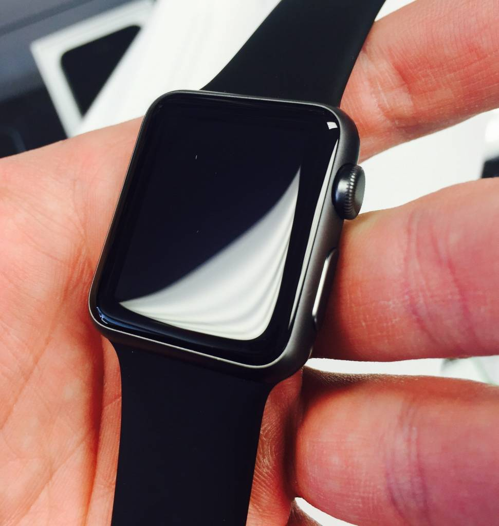 Apple Watch Series 1 42mm Black Sport Paymore Discounted New