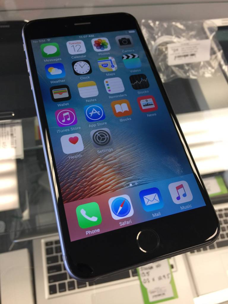 AT&T Only - iPhone 6 Plus - 16GB - Space Grey - Fair