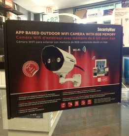 SecurityMan App Based Outdoor Wifi Camera - 8GB