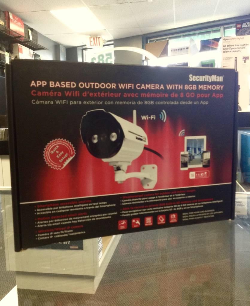 SecurityMan App Based Outdoor Wifi Camera - 8GB