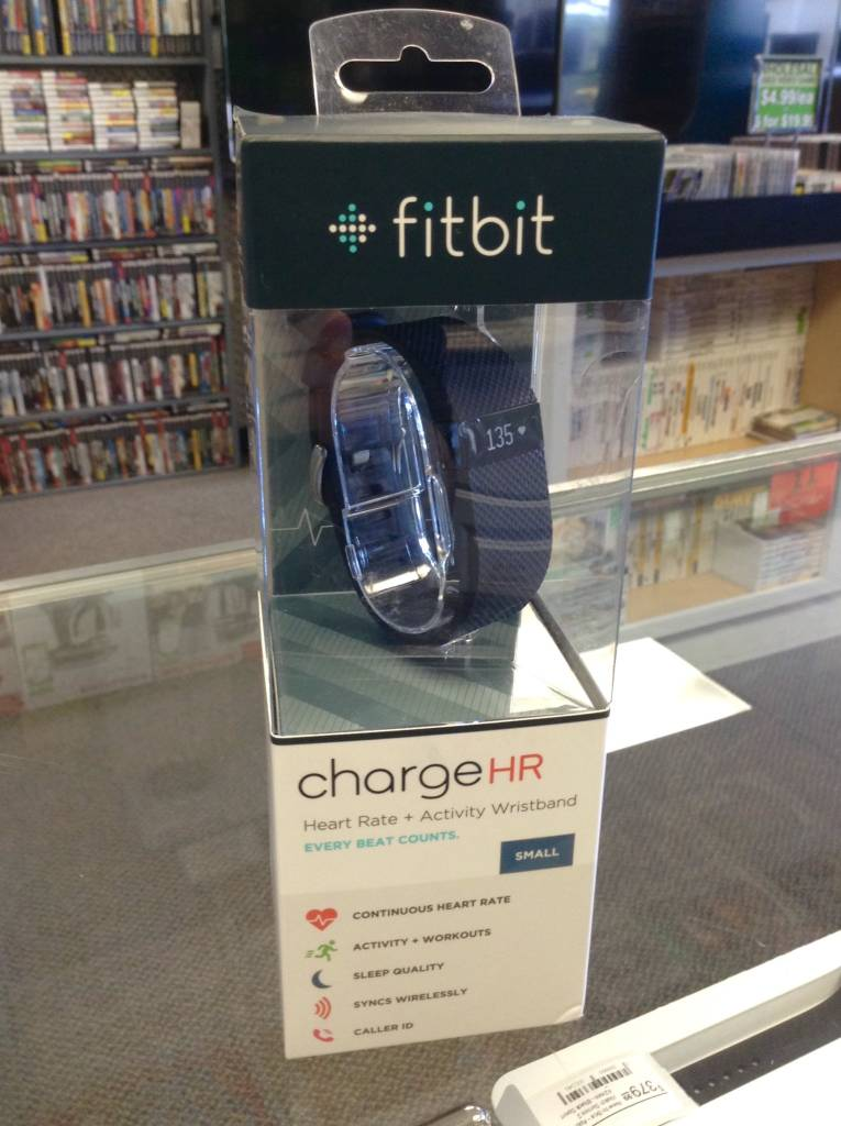 Fitbit Charge HR - Small - Black - New in Box