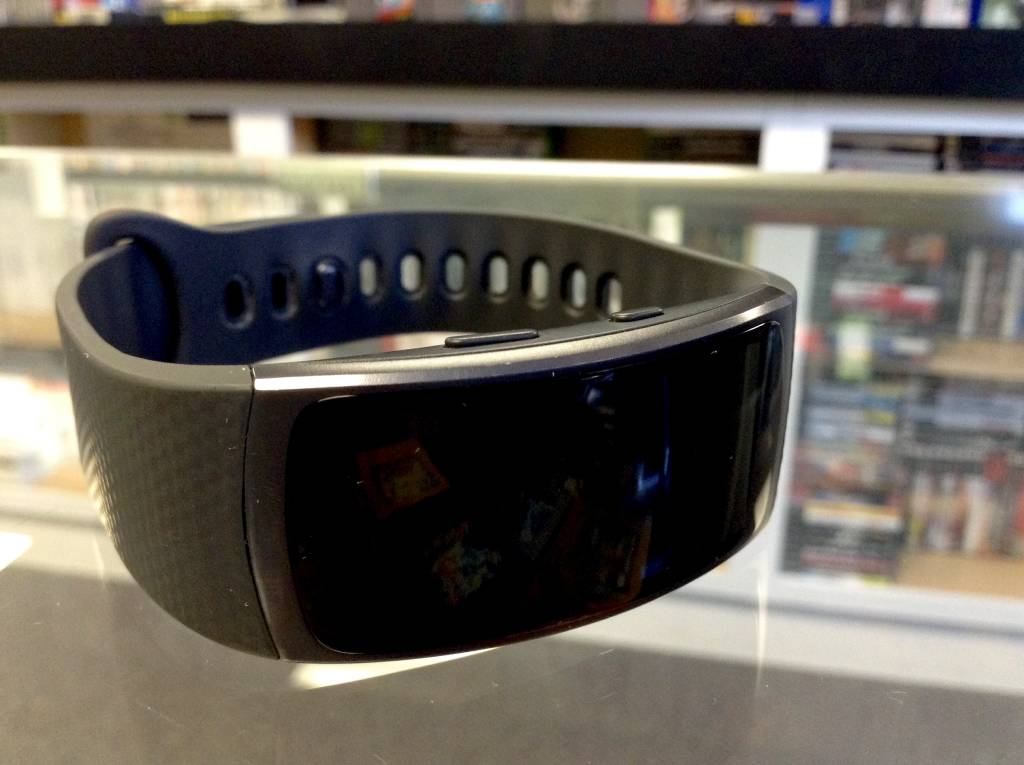Samsung Gear Fit 2 - Smart Fitness Tracker - Black