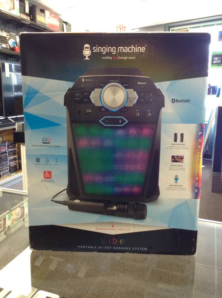 Singing Machine: Vibe - Digital Karaoke System