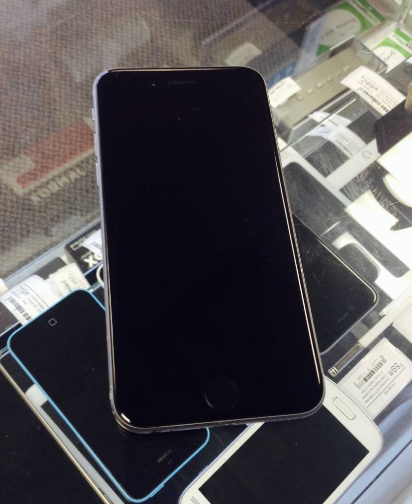T-Mobile Only- Apple iPhone 6 - 16GB - Space Gray - Fair Condition