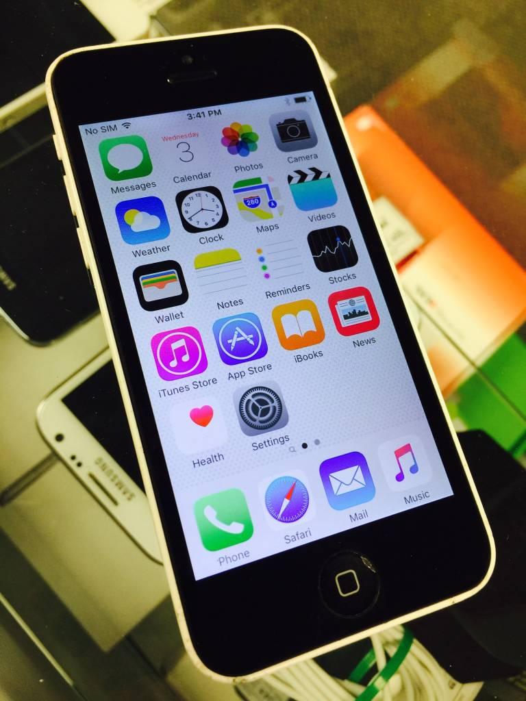 Verizon Only - iPhone 5C - 16GB - White - Fair