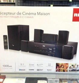 RCA Home Theater Receiver - 5.1 Channel Bluetooth Speaker System