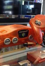 Special Edition Orange Funtastic Nintendo 64 N64 Console Bundle
