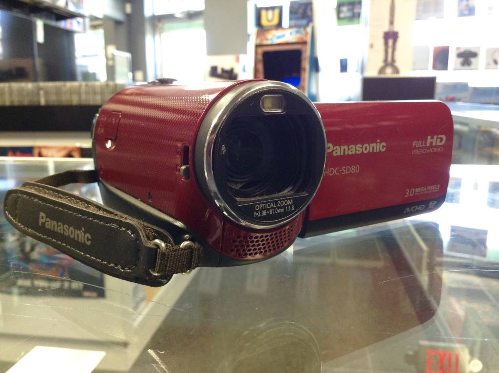 Panasonic HDC-SD80 HD Camcorder - 1080p
