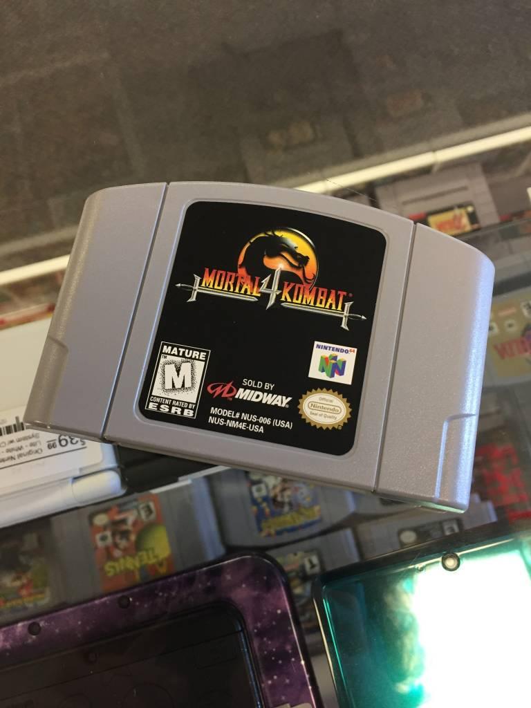 Mortal Kombat 4 - (Nintendo 64, N64 1998)
