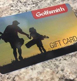 Golfsmith $50 Gift Card