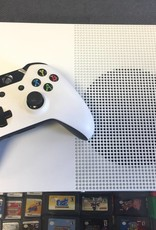 Microsoft Xbox One S 1TB - Model 1681 - White - Console Bundle