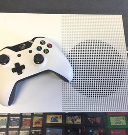 Microsoft Xbox One S 1TB - Model 1681 - White - Console Bundle