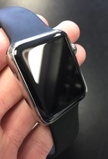 Apple Watch Series 7000 - 42mm - Stainless Steel - Black M/L Band