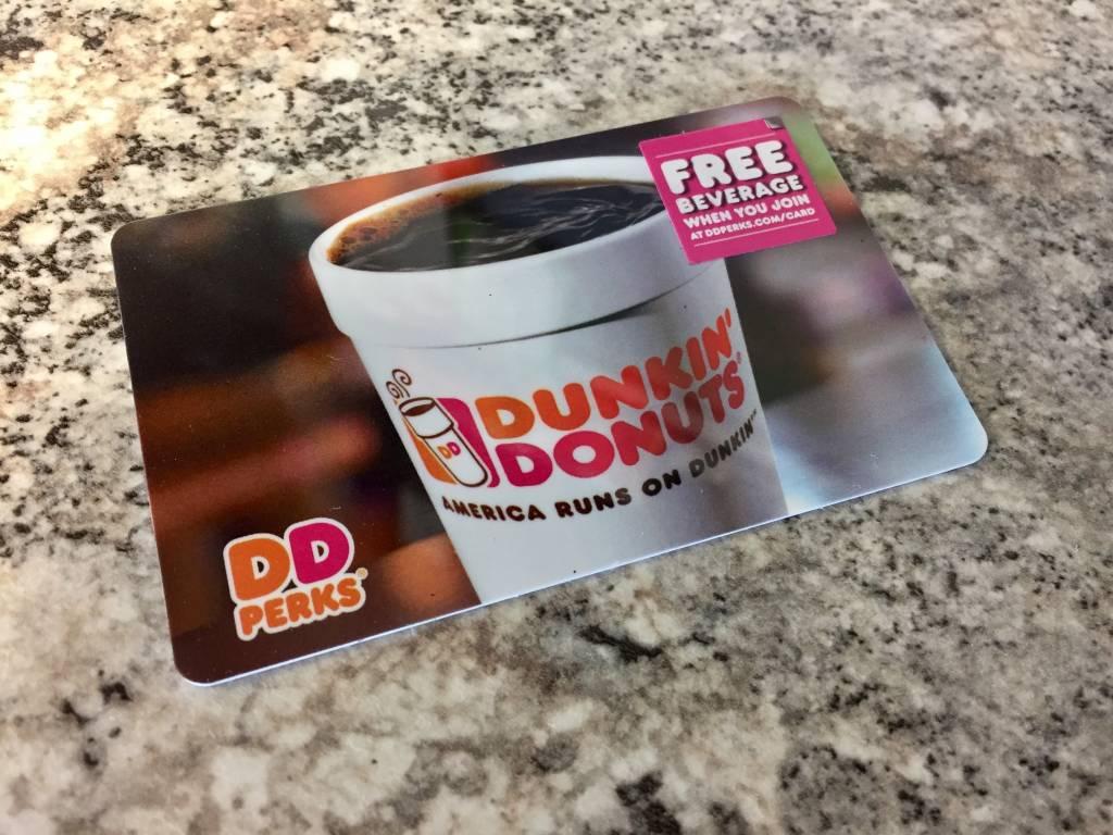 Dunkin' Donuts $75 Gift Card