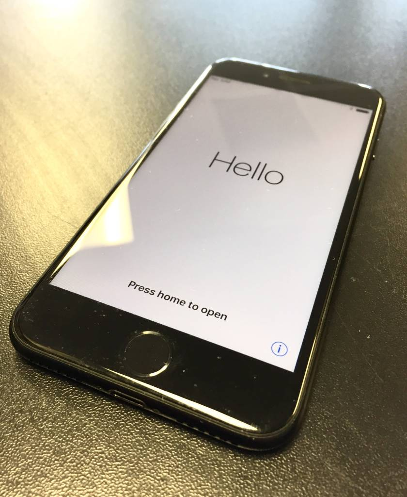 T-Mobile Only - iPhone 7 - 32GB - Jet Black - Fair