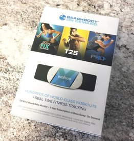 Beachbody Wahoo TICKR X Fitness Tracker + 1 Year Beachbody Subscription