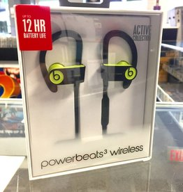 New in Box - Wireless PowerBeats 3 - Shock Yellow