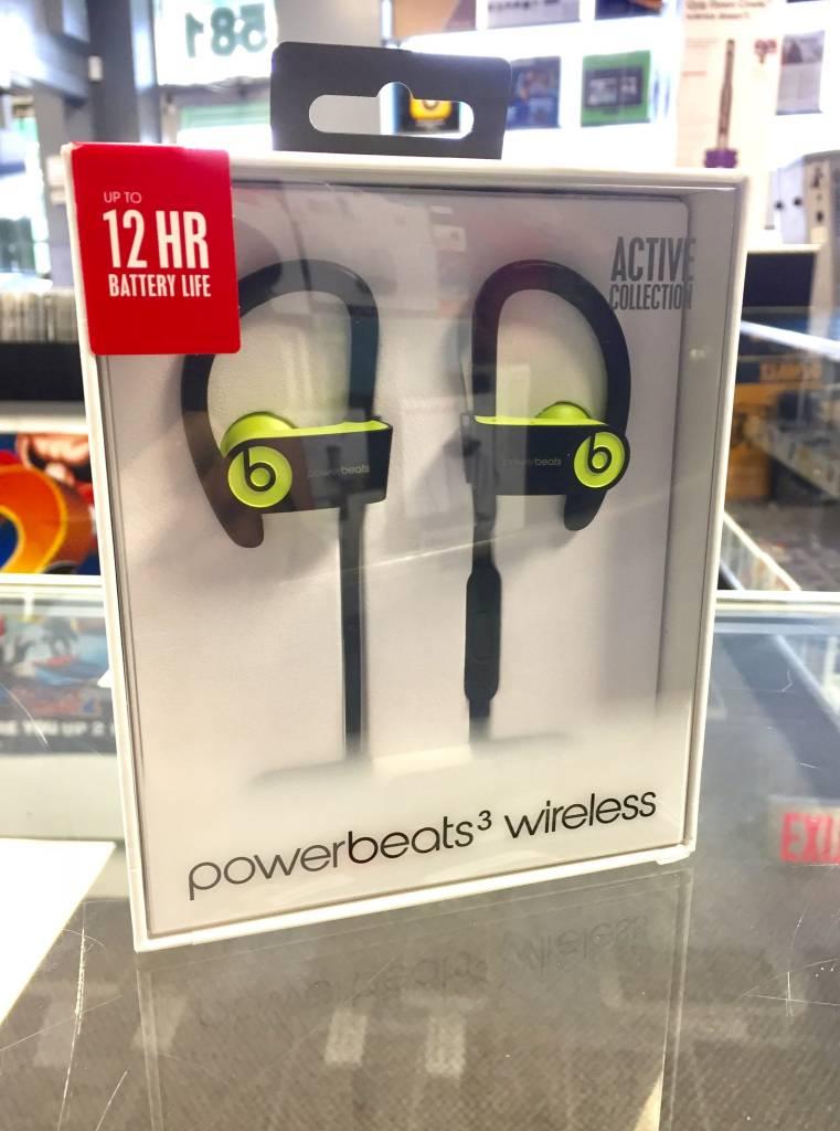 New in Box - Wireless PowerBeats 3 - Shock Yellow
