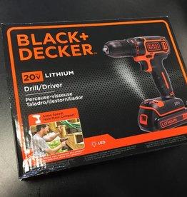 Black & Decker 20v Cordless Drill/Driver- New in Box