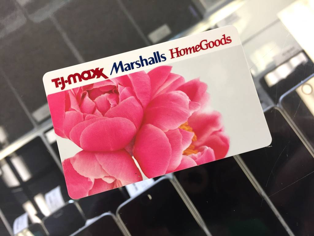 TJ-Maxx/ Marshalls/ Home Goods Gift Card - $120