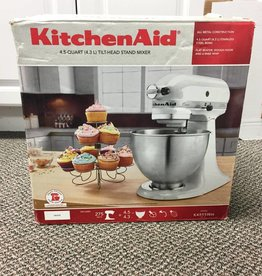 New - Kitchenaid K45SS Artisan Tilt Head Stand 4.5 QT. Mixer