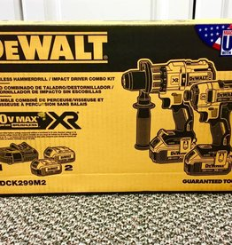 Brand New - Dewalt DCK299M2 Hammerdrill/Impact Driver Combo Kit