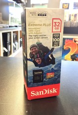 Sandisk Extreme PLUS 32GB MicroSD/SDHC UHS-I Card & Adapter