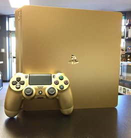 Sony Playstation 4 (PS4) Slim Console - 500GB - Gold Edition