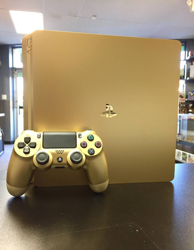 Sony Playstation 4 Slim Console - 500GB - Gold Edition