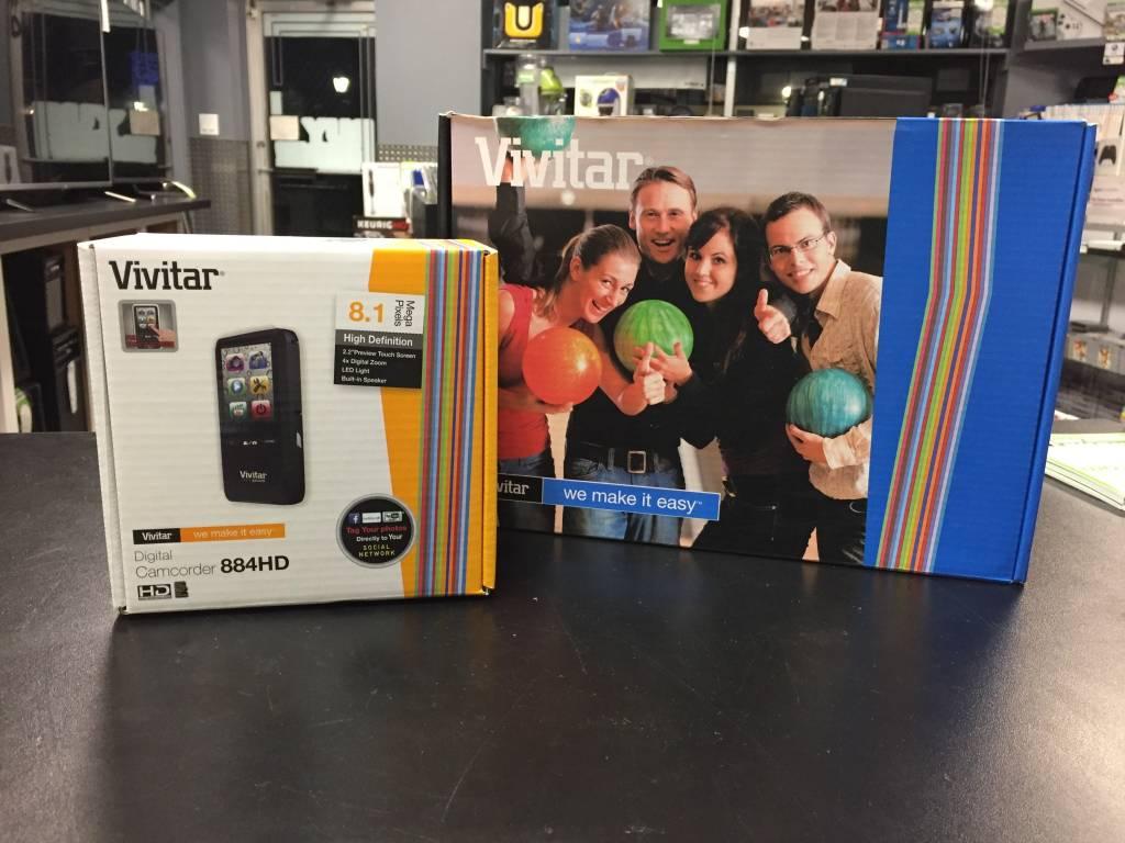 Vivitar Digital Camcorder - 884HD - 8.1 MP
