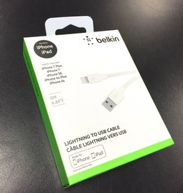 Belkin 2M/6.6ft Lightning to USB Cable - New