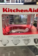 KitchenAid 5 Quart Glass Bowl - New