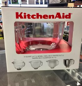 KitchenAid 5 Quart Glass Bowl - New