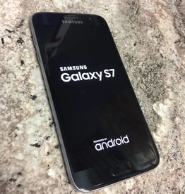 T-Mobile Only - Samsung Galaxy S7 - 32GB- Black - Fair