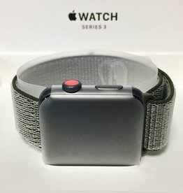 4G/GPS - Apple Watch Series 3 - 42mm - Olive Nylon - New